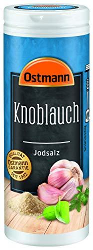 Ostmann Knoblauch Jodsalz, 4er Pack (4 x 60 g)
