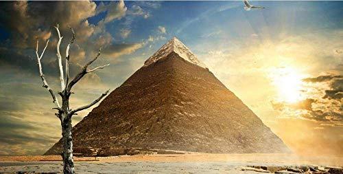 Pared pirámides egipcias 1000 piezas de rompecabezas, juguetes educativos para niños, juegos de padres e hijos, juegos de desarrollo intelectual