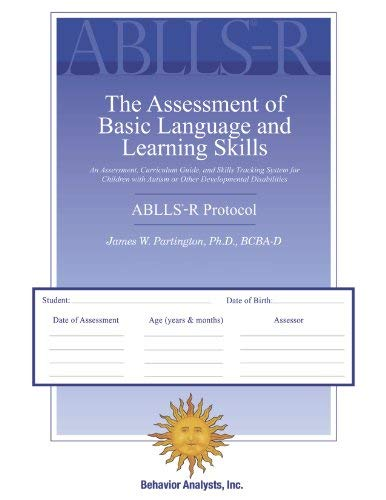Image OfABLLS-R - The Assessment Of Basic Language And Learning Skills - Revised (The ABLLS-R) Combination Set