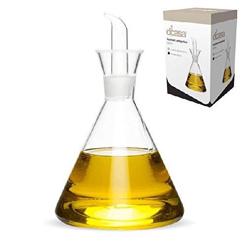 Dcasa Antigoteo Aceiteras y recipientes para aliños Fiambreras bento-Porta Alimentos Artículos para el hogar Unisex Adulto, Color, única