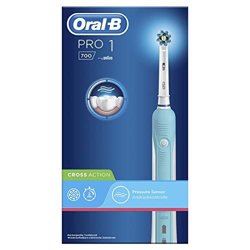 Oral-B Pro 1 700 Braun Spazzolino Elettrico Ricaricabile, 1 Testina Di Ricambio