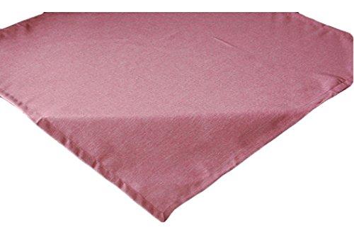 Tafelkleed onderhoudsvriendelijk 110x110 cm linnenlook vlekbescherming envelop tafelkleed vierkant