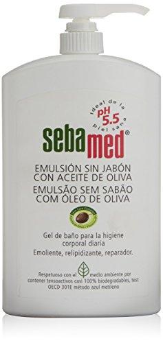 Sebamed Emulsión sin Jabón con Aceite de Oliva - 1000 ml