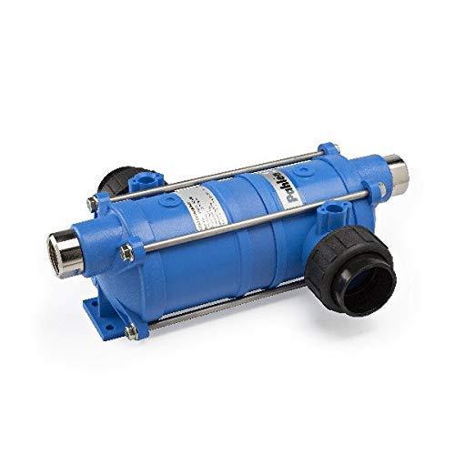 well2wellness® Pahlen Wärmetauscher Modell Hi-Temp 40kW in Edelstahl inkl. Halterung