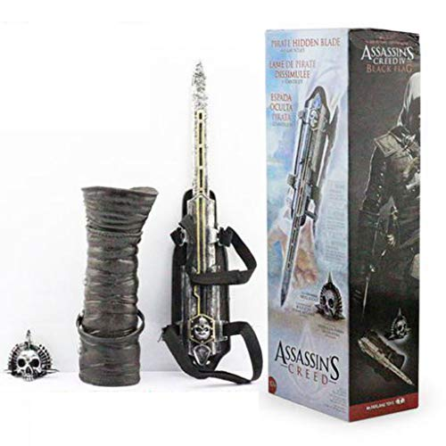TYYT Assassins Creed Black Flag Edward Cosplay Waffe Props 1: 1 Pfeil Sleeve 4. Generation Can Schießen Sleeve Schwert A