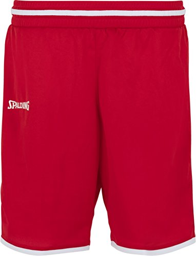 Spalding Womens 300514505_S Shorts, red,White, S