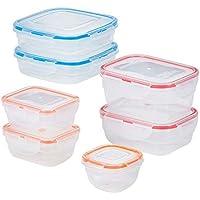 Lock n Lock Easy Essentials 14-Piece Food Storage Container Set