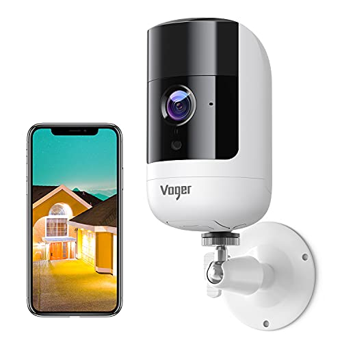 Voger Wireless Security Camera Outdoor with Rechargeable Battery, 1080P...