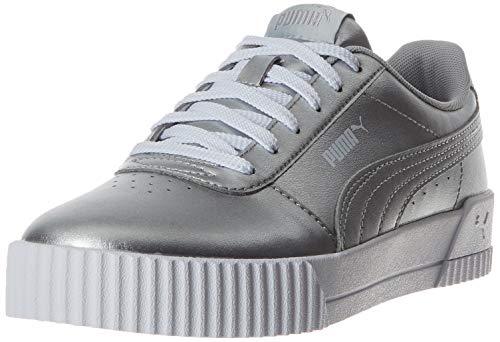 Puma Damen Carina Metallic Fußballschuhe, Grau Silver Silver, 41 EU