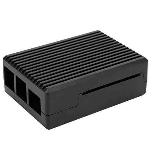 Motherboard Case Raspberry Pi Cover Aluminum Alloy Case Raspberry Pi 4 Black Raspberry Pi Box otherboard Protection for Raspberry Pi4