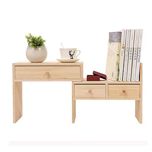 XYZX ladekast, massief hout, boekenkast, gecombineerde montage, kantoorbenodigdheden, tafelplank, planken