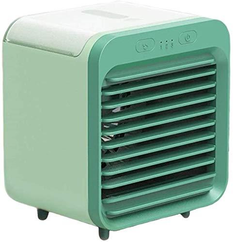 Kleiner Ventilator,Klimaanlagenventilator,Tragbarer Leiser Wiederaufladbarer USB-Sprühventilator,Wassergekühlter Sprühventilator,Starke Windkühlung,3 Geschwindigkeitsstufen Lüfter,Büro Im Schlafzimmer