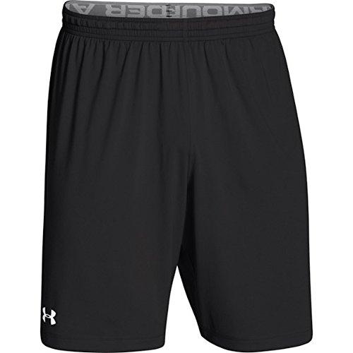 Under Armour Boys' UA Velocity Shorts (Black, Small)