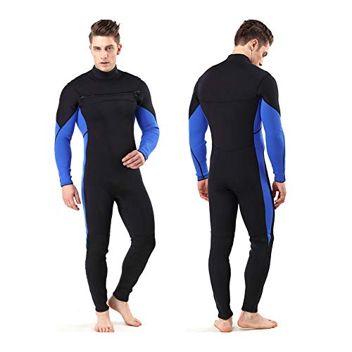 QWERDF Traje De Surf Traje Completo De 3 Mm Shorty Hombres De Las Mujeres 3/4 Mm, 4/5 Mm De Neopreno Buceo con Traje De Buceo Natación del Mono,B,M