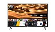 LG 49UM7100PLB 49 Inch UHD 4K HDR Smart LED TV with Freeview Play - Ceramic Black (2019 Model) Amazo...