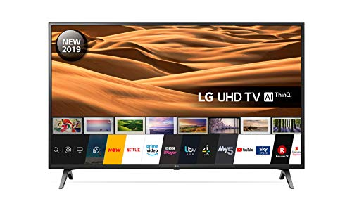 LG 55UM7100PLB 55 Inch UHD 4K HDR Smart LED TV with Freeview Play - Ceramic Black (2019 Model) Amazon exclusive, with Alexa built-in
