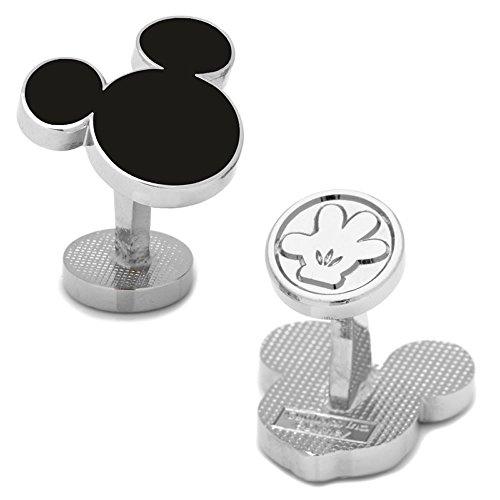 Disney ミッキーマウス シルエット カフス カフスボタン カフリンクス dn-msilh-sl