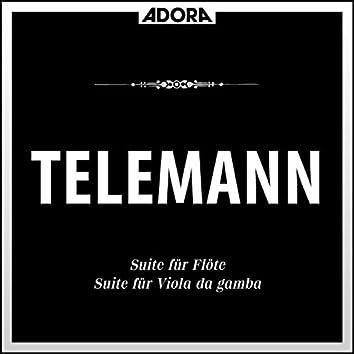 Telemann: Suit für Flöte und Viola