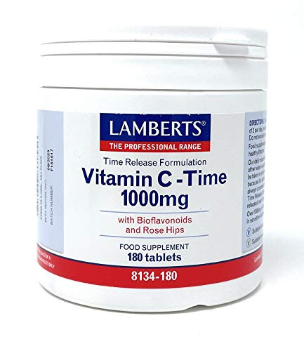 Lamberts Vitamina C 1000 mg - 180 Tabletas
