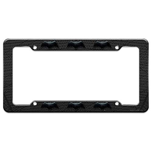 Graphics and More Justice League Movie Batman Logo License Plate Tag Frame