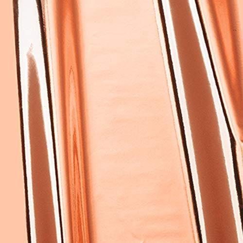 10,2€/m² Möbelfolie d-c-fix Chrom Metallic Hochglanz rosegold Folie 45cm Breite Laufmeterware Plotter-folie Glanz
