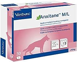 Anxitane VN100502 Relajantes para Perros - 30 Cápsulas