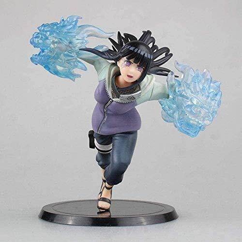 Yooped Figura de Anime Figura de Anime Estatua 16 5 cm Naruto doucement tep Puño de Leones Gemelos Hinata Hyuga Figuras Colección de Figuras Modèle Estatua Decoración PVC