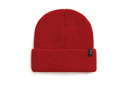 Brixton Beanie Heist, Unisex Mütze , red, Einheitsgröße, 110-00008-0700