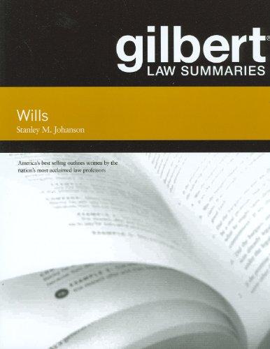 Gilbert Law Summaries on Wills