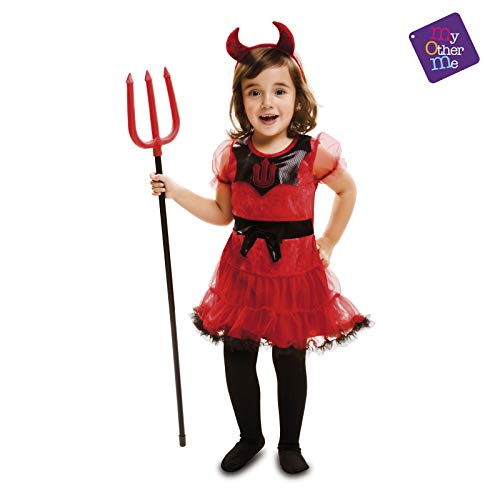 My Other Me - Halloween Diablesa Disfraz, Multicolor, 3-4 años, Fun Company 202251