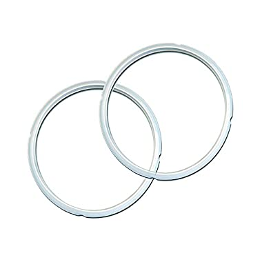 Genuine Instant Pot Sealing Ring 2 Pack Clear – 8 Quart