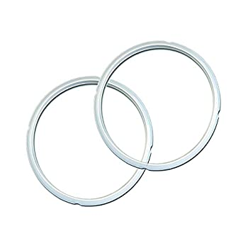 Instant Pot Sealing Ring 2 Pack Clear 5 or 6 Quart