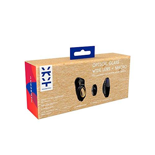 Mixberry MSMLS210WM Kit Lenti Ottiche per iPhone 5/Se/6/6S/7/7S/6Splus/7Plus, Nero