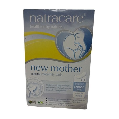 Natracare Maternity Pads 2 Boxes, 10 pads in each box (20 Pads Total) by NATRACARE