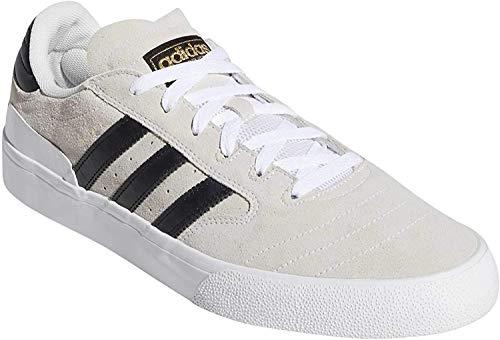 adidas Herren Busenitz Vulc Ii Gymnastikschuh, FTWR White/Core Black/ Gum4, 45 1/3 EU