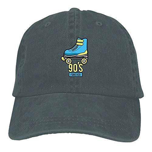 Men Women 90 S Forever Cotton Denim Cowboy Hat Adjustable