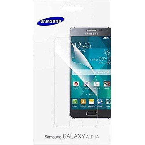 Samsung ET-FG850CTEGWW Galaxy Alpha Displayschutzfolie für Smartphone (2-er Pack)