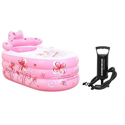 Opblaasbare badkuip LF Verdikke badkuip voor volwassenen, badkuip, plastic, badkuip, spaar ruimte en comfort