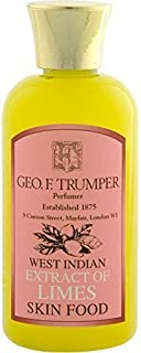 Geo F Trumper Small West Indian Extract of Limes Skin Food - Use and a Pre Shave Treatment or/and Aftershave Treatment - A Must Own for any Man! by Geo F. Trumper