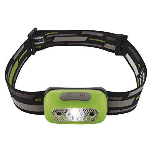 EMOS P3534 aufladbare CREE-LED Kopflampe mit Bewegungsmelder, Akku-Stirnlampe mit USB-Kabel, 230lm Kopfleuchte mit 80m Leuchtweite und 4 Lichtmodi, 13 St. Leuchtdauer