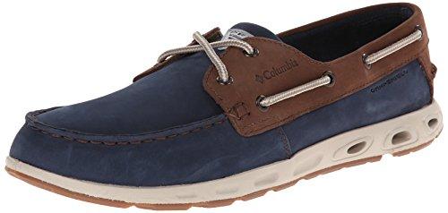Columbia PFG Men's Bonehead Vent Leather PFG Boat Shoe,...