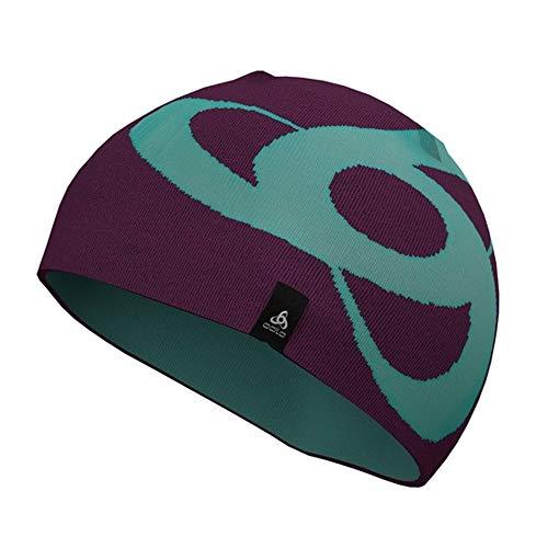 Odlo Magic Knit Hat - Pickled Beet/Blue Radiance