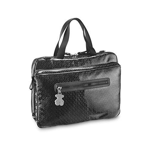 Tous Tibora Lindsay, Bolsa para portátil para Mujer, (Negro 195890153), 38x29x3 cm (W x H x L)