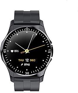 QLKJ Reloj Inteligente Impermeable IP67 Pulsómetro Cronómetro Calorías Monitor de Sueño Podómetro Pulsera Actividad Inteligente para Deporte Relojes de Fitness Hombre Mujer