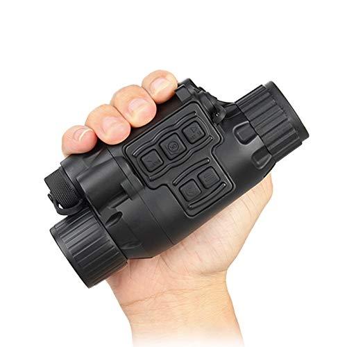 Alcance monocular de visión nocturna digital IR de bolsillo en la iluminación infrarroja oscura para la caza de la oscuridad alcance 200 m