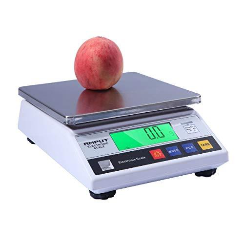 MZP Pèse-bijoux Numérique 0.01g Balance Électronique De Laboratoire Balances De Pesage Haute Précision 1kg-10kg Numérique Cuisine Aliments Pesée Compte Balance (Size : 1kg/0.01g)