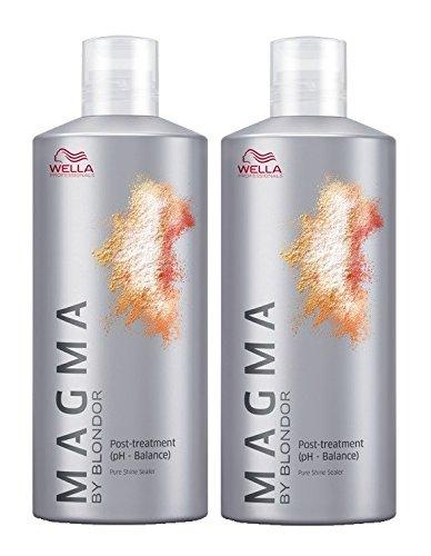 Wella Magma Post Treatment 2 x 500 ml Haarpflege By Blondor
