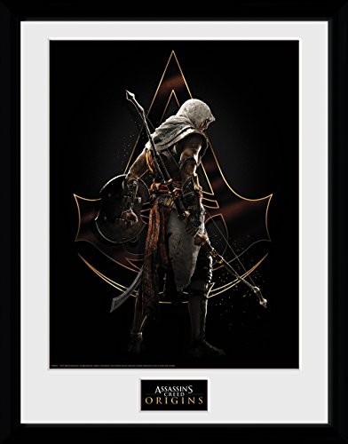 GB Eye Poster Assassins Creed Origins Assassin Gerahmter Druck, mehrfarbig, 30x 40cm