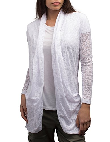 SCOTTeVEST Women Lucille Cardigan - Travel Clothing for Women - Sheer Cardigan (CLD XXL)