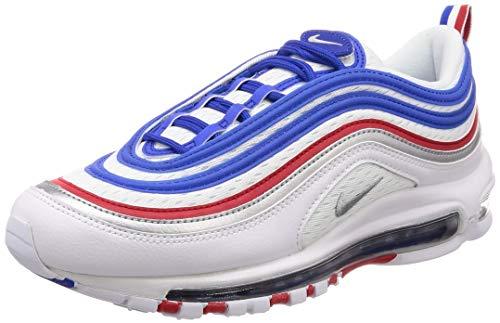 Nike Men's Air Max 97 Running Shoes, Blue (Game Royal/Metallic Silver 404), 7 UK